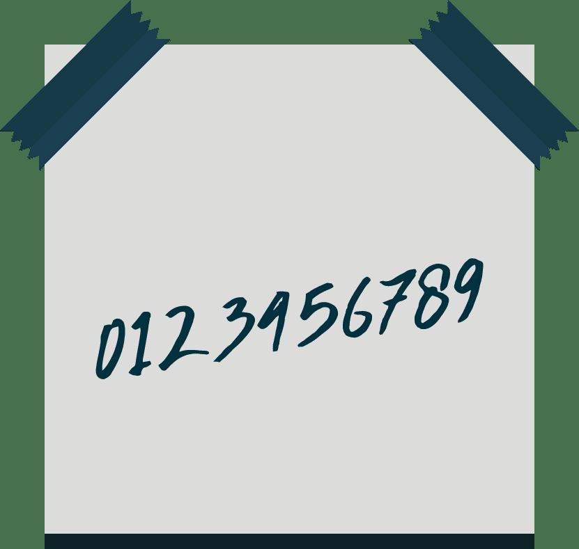 Eigene telefonnummer
